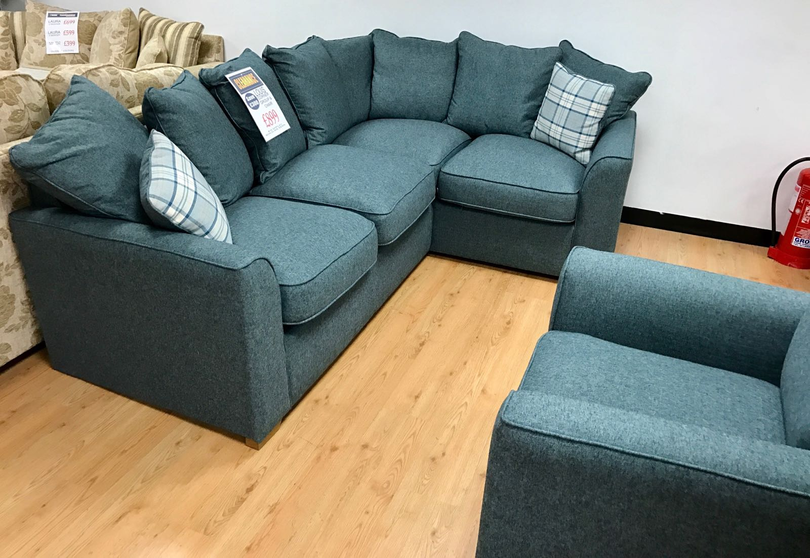 Louis Corner Sofa Chair The Furniture Superstore